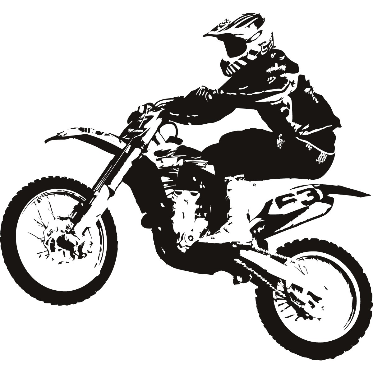 hight resolution of 1200x1200 cartoon dirt bike drawing