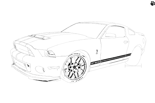 small resolution of 5616x3744 shelby boss mustang 302 unfinished by tehpaws3d