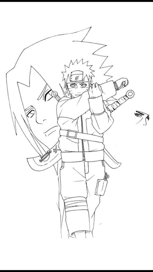 small resolution of 720x1280 drawing naruto apk download from moboplay