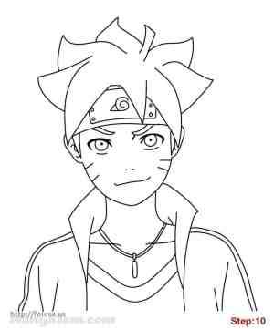 naruto easy drawing draw drawings anime characters sketch uzumaki step boruto sasuke kakashi desenho para sketches desenhos manga cool tutorials