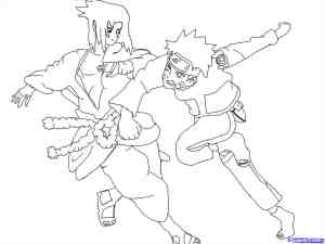 naruto drawing draw pencil sasuke coloring anime easy step characters getdrawings pages akatsuki steps members manga tutorial outline dragoart popular
