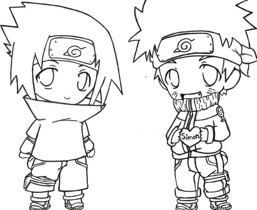 naruto sasuke drawing at getdrawings  free download