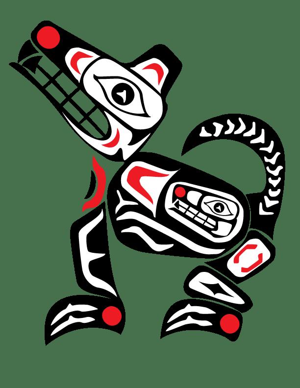 Native American Animal Symbols Wolf