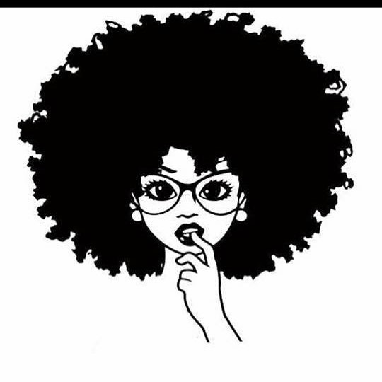 Natural Hair Art Drawing At Getdrawings Free Download