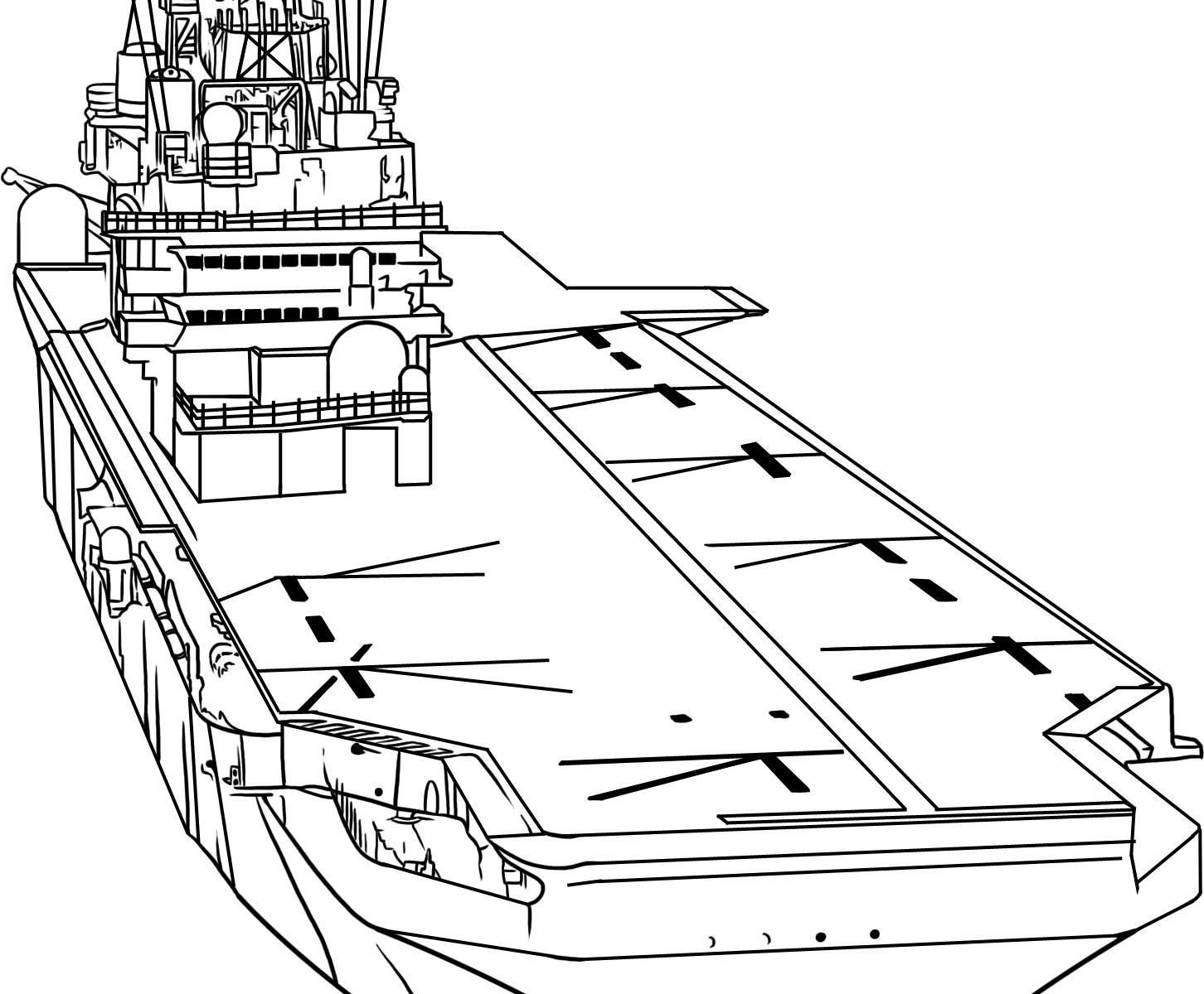 Naval Ship Drawing At Getdrawings