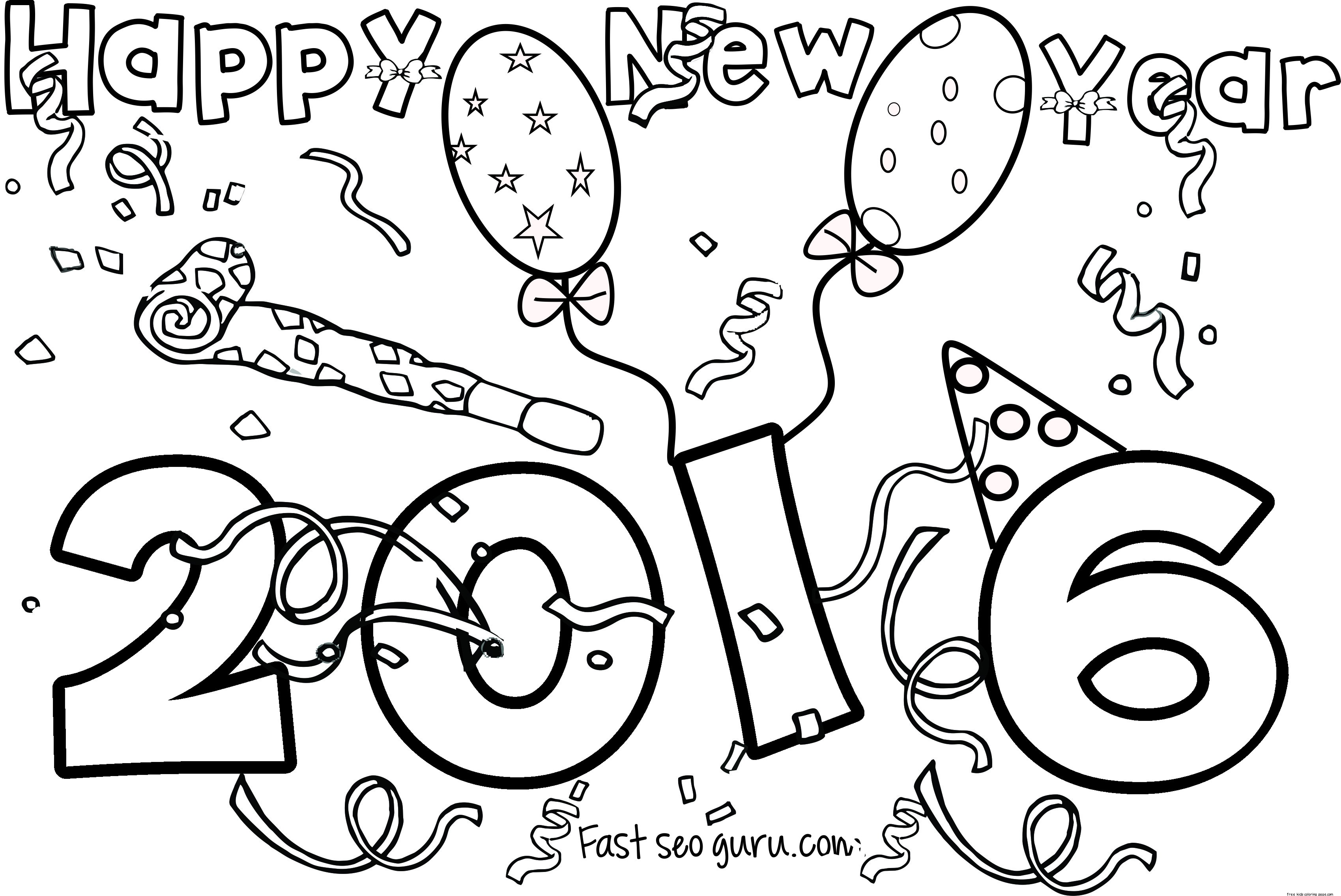 New Year Celebration Drawing At Getdrawings