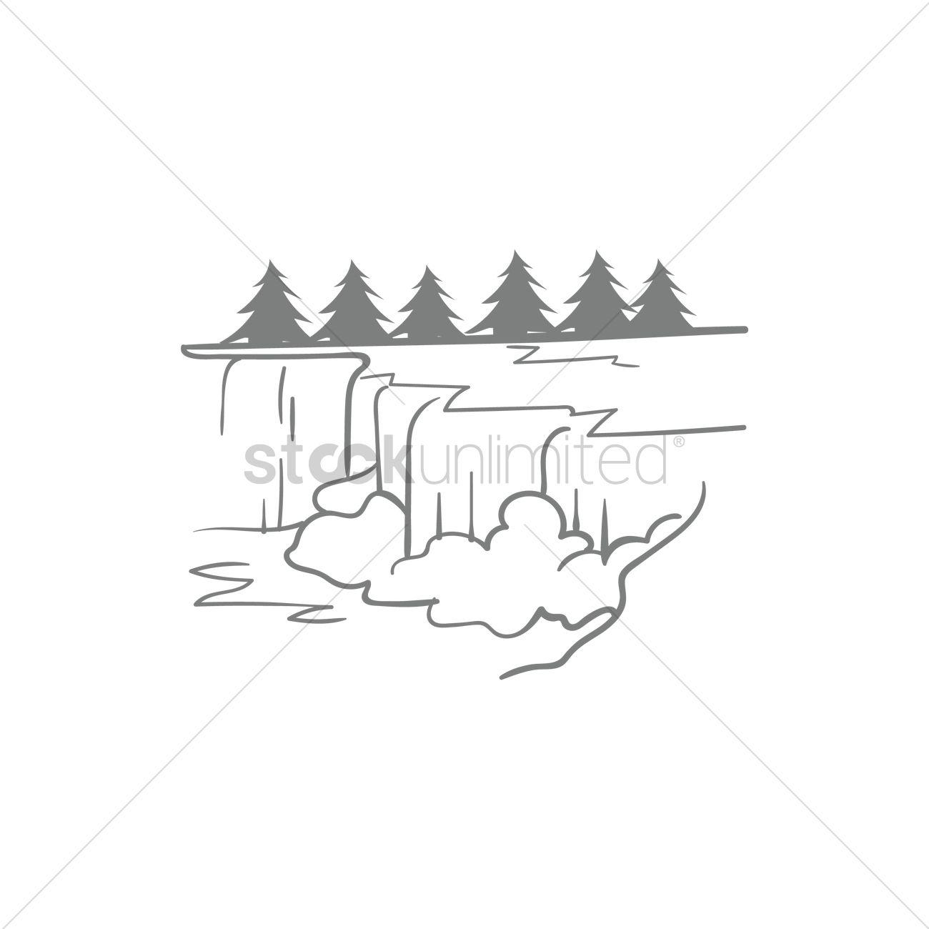 Niagara Falls Drawing At Getdrawings