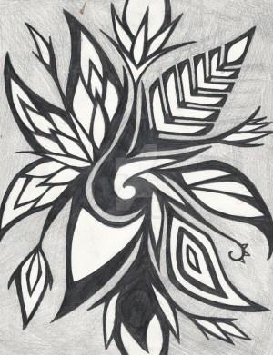 abstract drawing nice easy drawings getdrawings deviantart