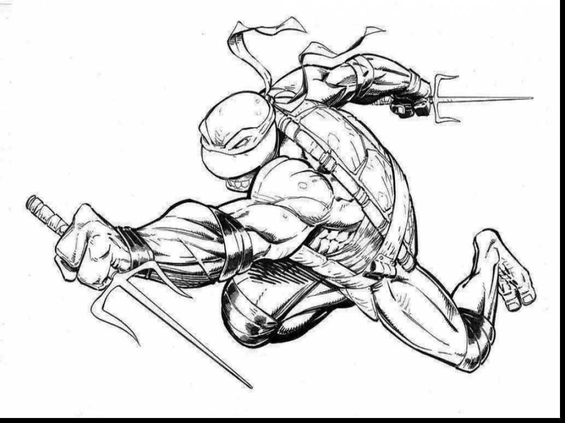 Ninja Turtles Drawing Games At Getdrawings