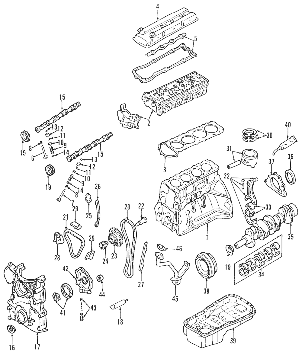 1000x1176 genuine nissan 240sx valve cover gasket 13270 70f00 ebay