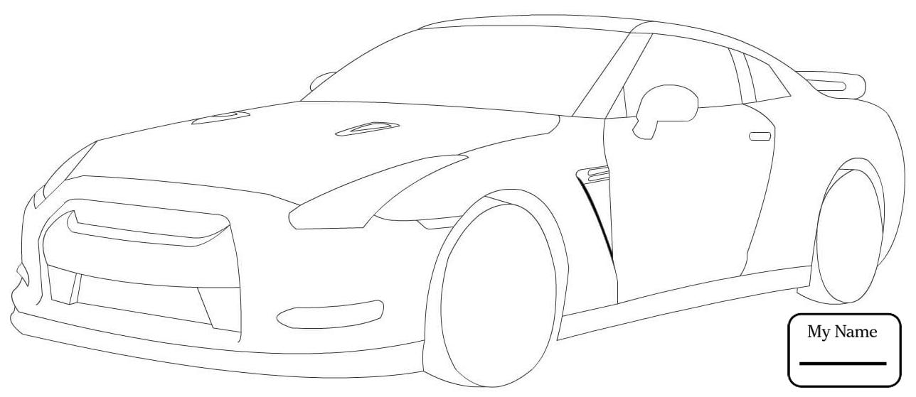 Alyssa: 35+ Latest Easy Gtr R32 Drawing