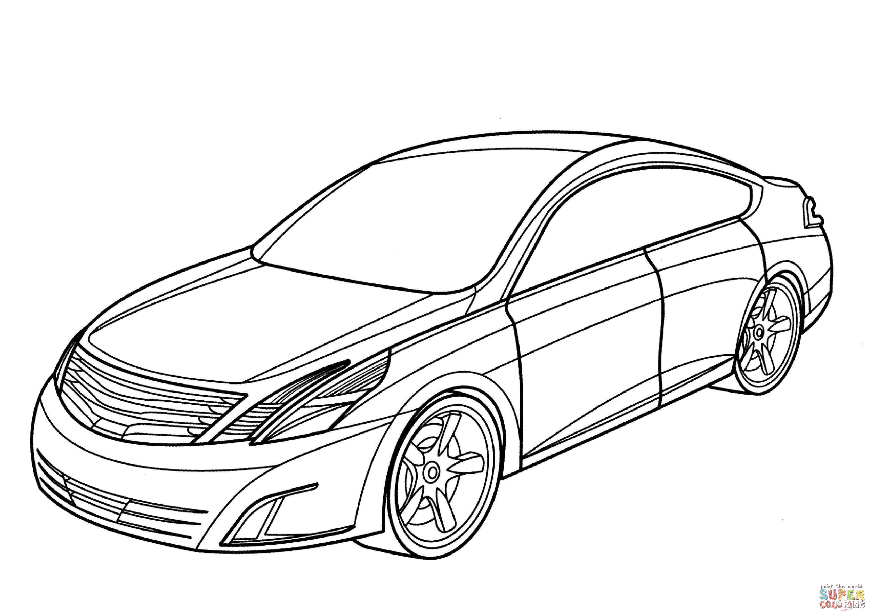Nissan Gtr Drawing At Getdrawings