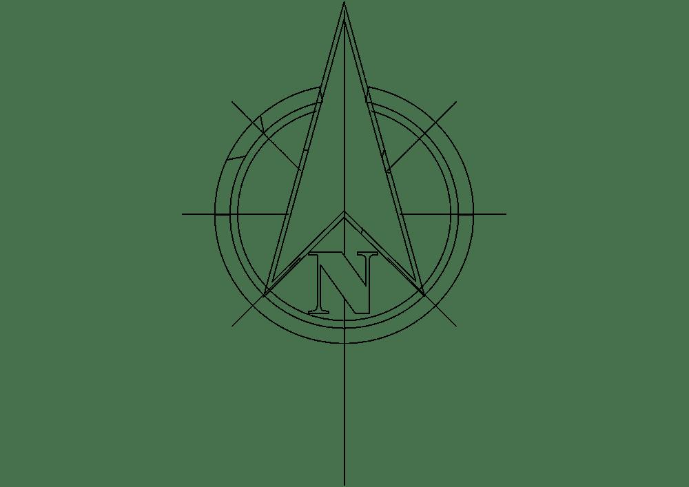 North Arrow Symbols Dwg Autocad Drawing at GetDrawings