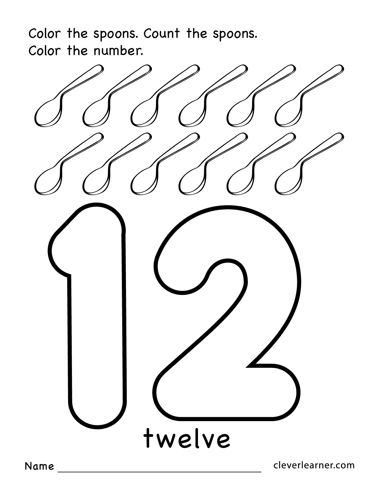 Number Drawing At Getdrawings