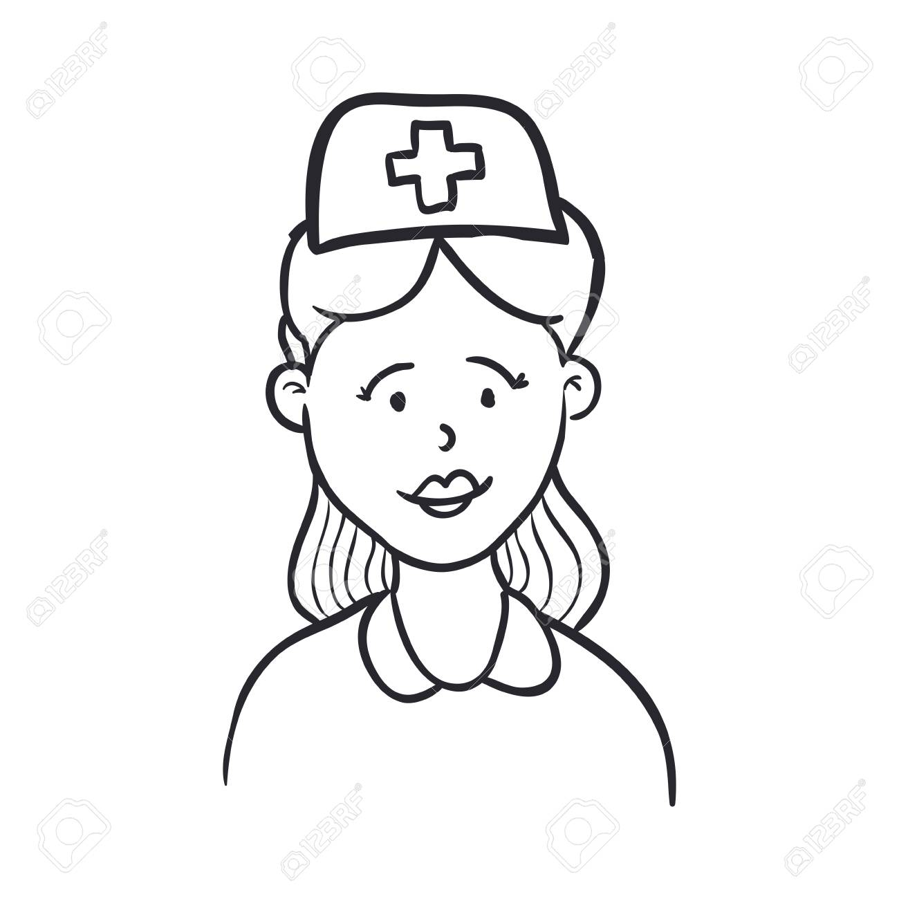 Nurse Cartoon Drawing At Getdrawings