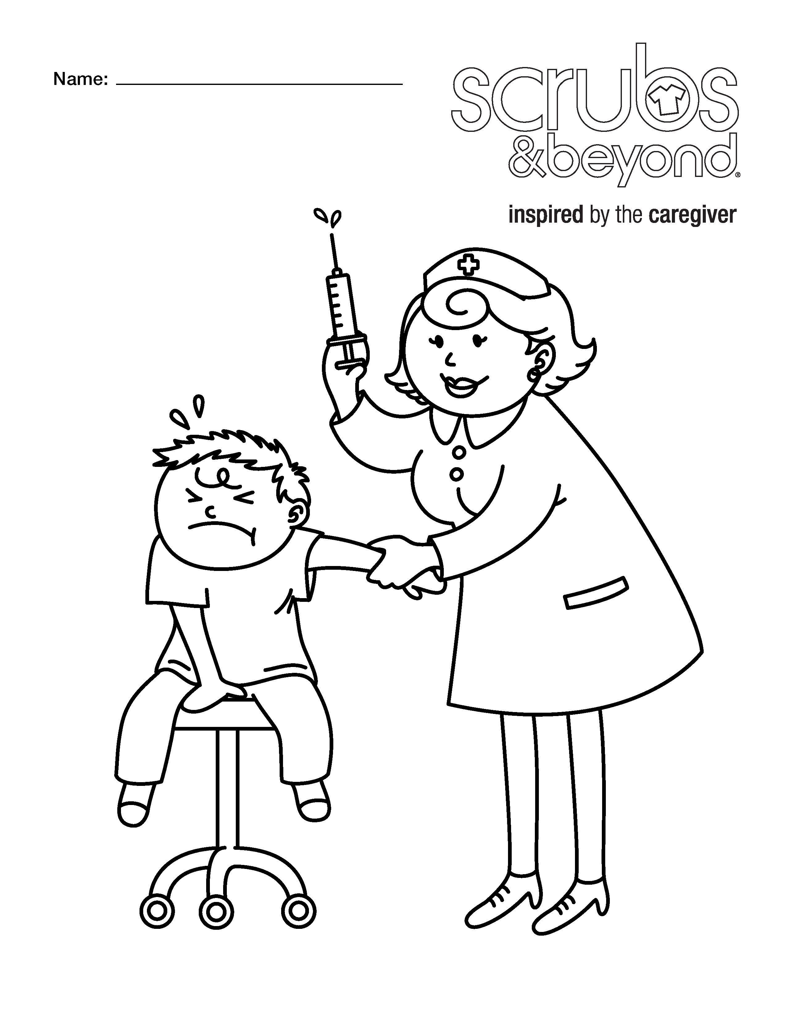 Nurses Drawing At Getdrawings