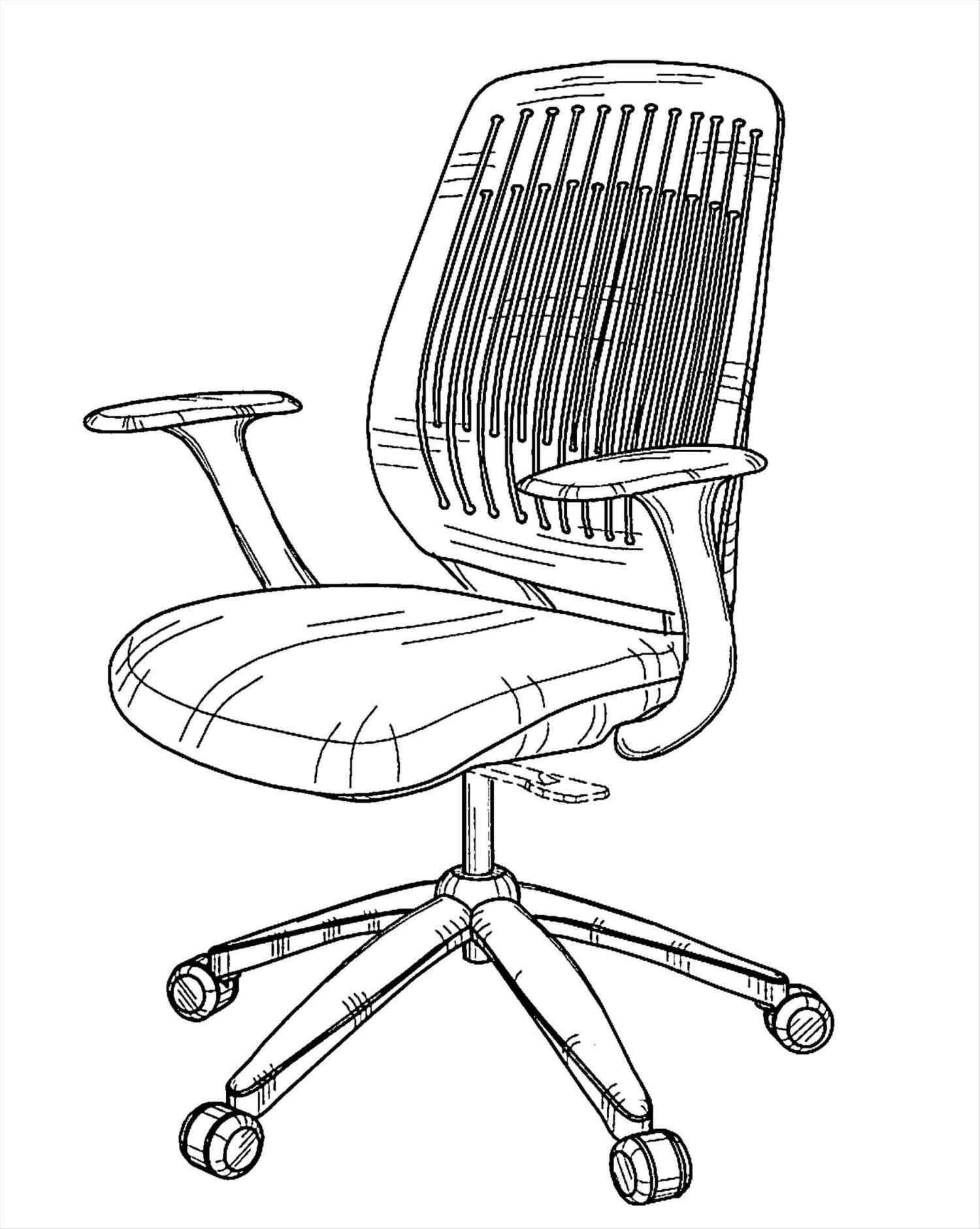 Office Chair Drawing At Getdrawings