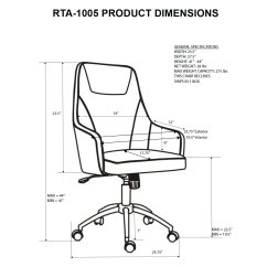 Ergonomic Chair Design Dimensions Slip Covered Dining Chairs With Arms Office Drawing At Getdrawings Free For