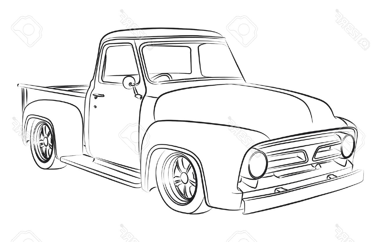 Old Car Drawing At Getdrawings
