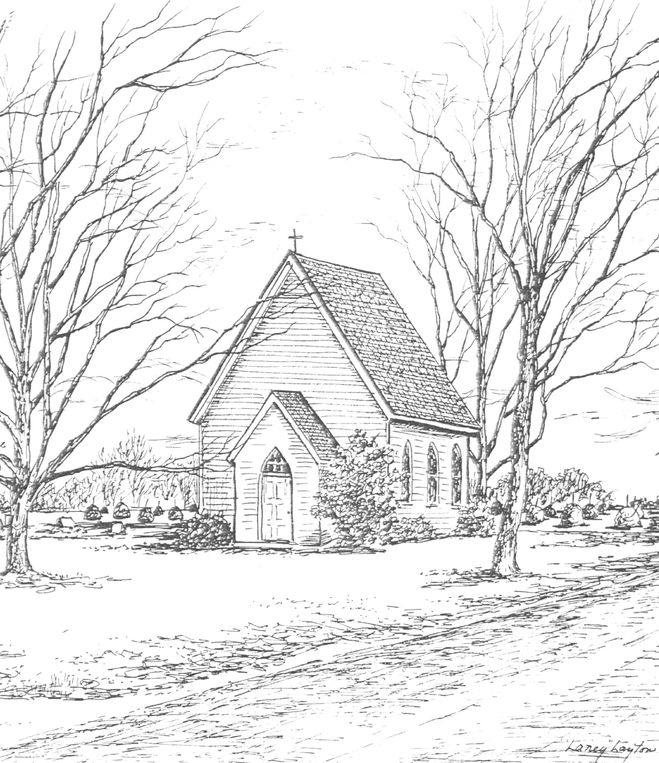 Old House Drawing At Getdrawings