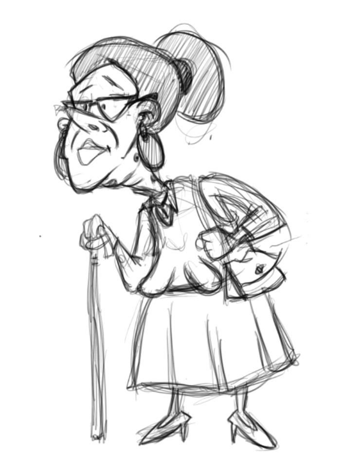 Woman Cartoon Drawing At Getdrawings Com