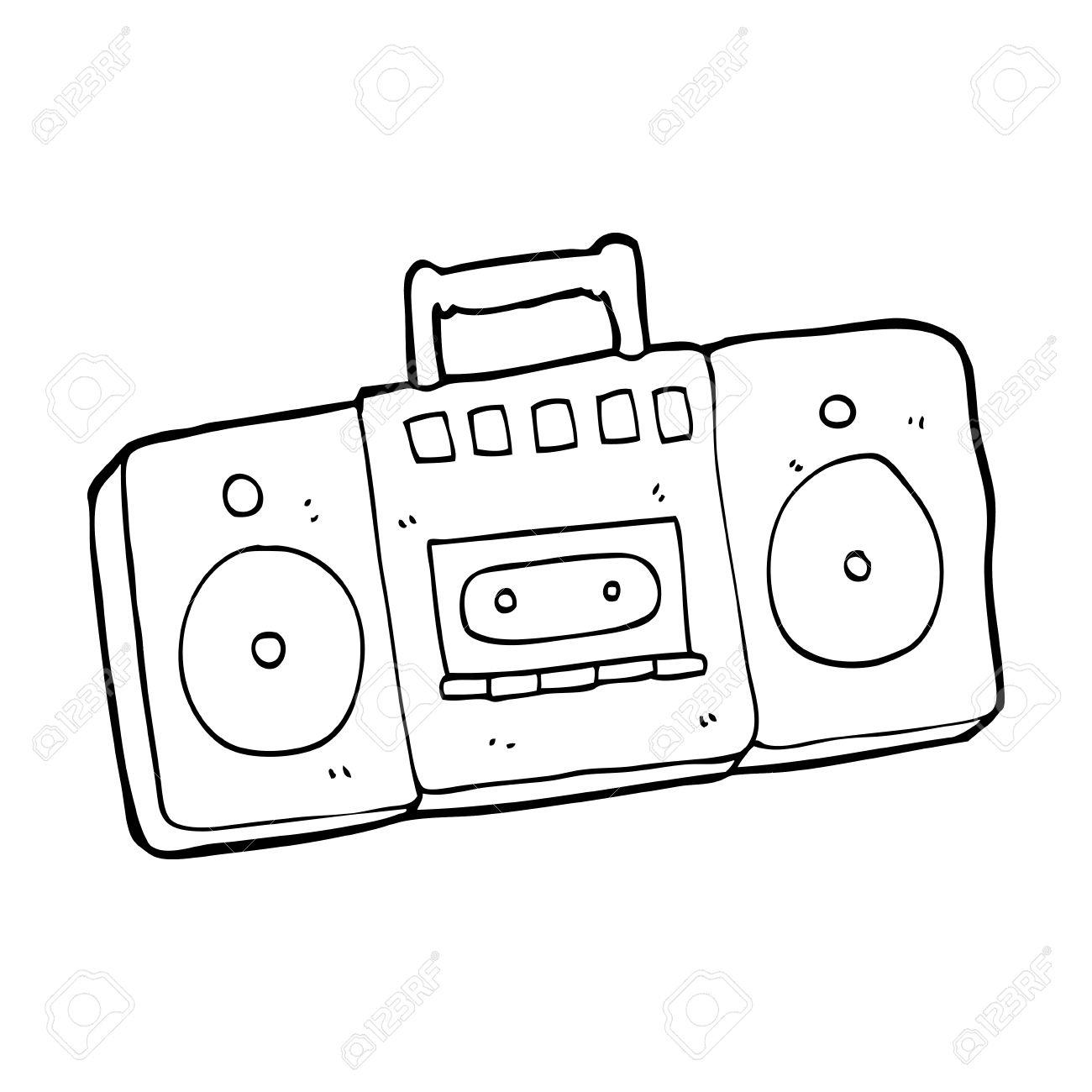 Old Radio Drawing At Getdrawings