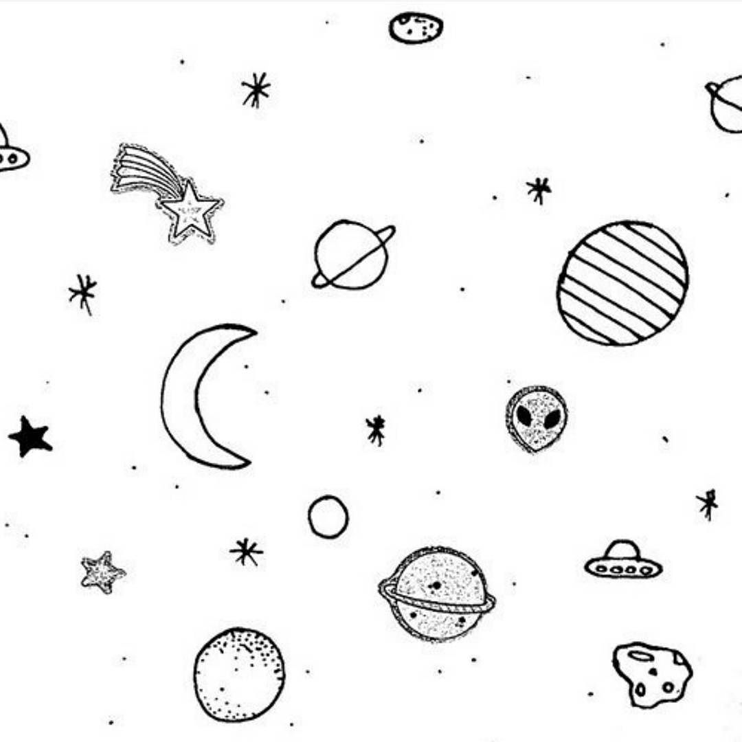 Outer Space Drawing Tumblr At Getdrawings