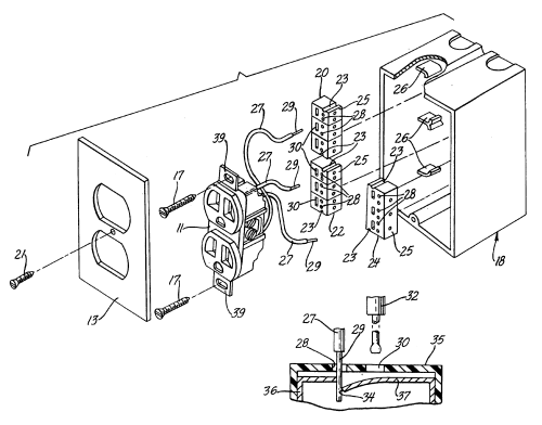 small resolution of drawing of electricity in a wall outlet dmp