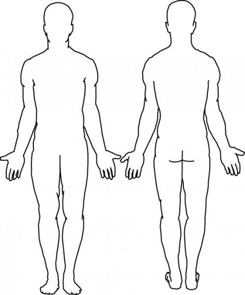 small resolution of pain body diagram printable wiring schematic data rh 14 american football ausruestung de body diagram injury form patient pain diagram
