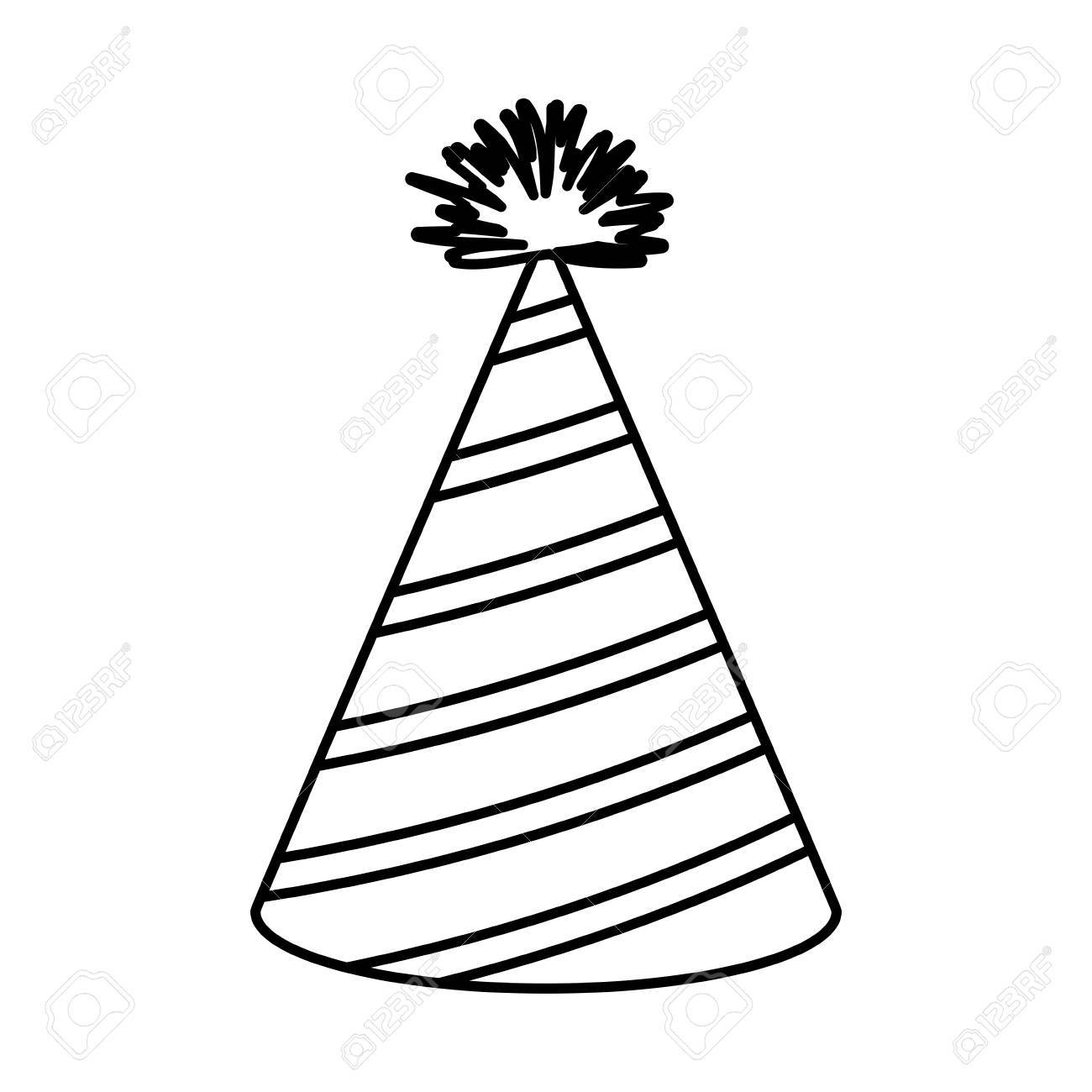 Party Hat Drawing At Getdrawings