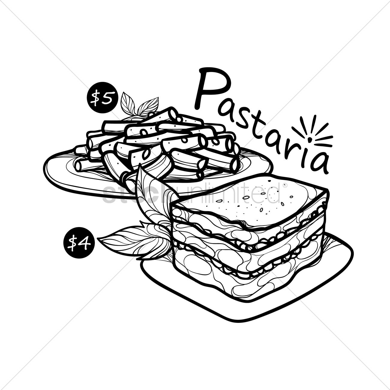 Pasta Drawing At Getdrawings