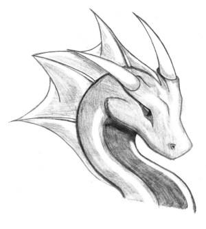 dragon dragons drawings drawing disegni di fantasy realistic easy pencil copy draw simple matita disegno semplici animali arte head charcoal