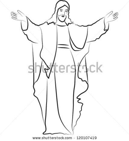 Pencil Drawing Of Jesus Christ at GetDrawingscom Free