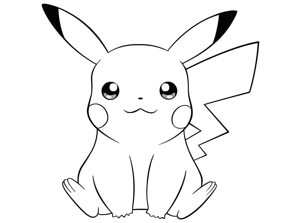 Pikachu Drawing Pictures At Getdrawings Free For Personal Use