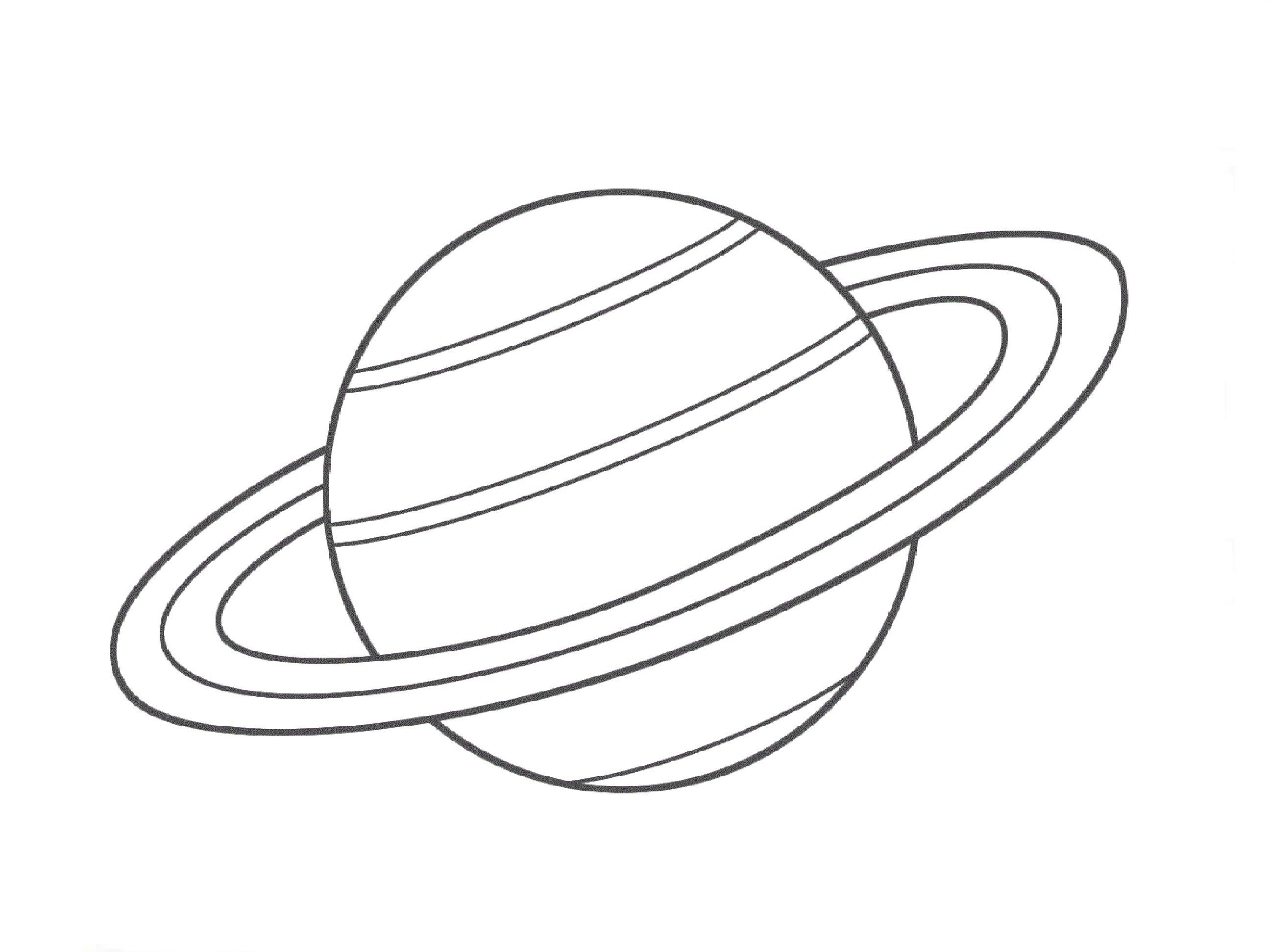 Planet Drawing At Getdrawings