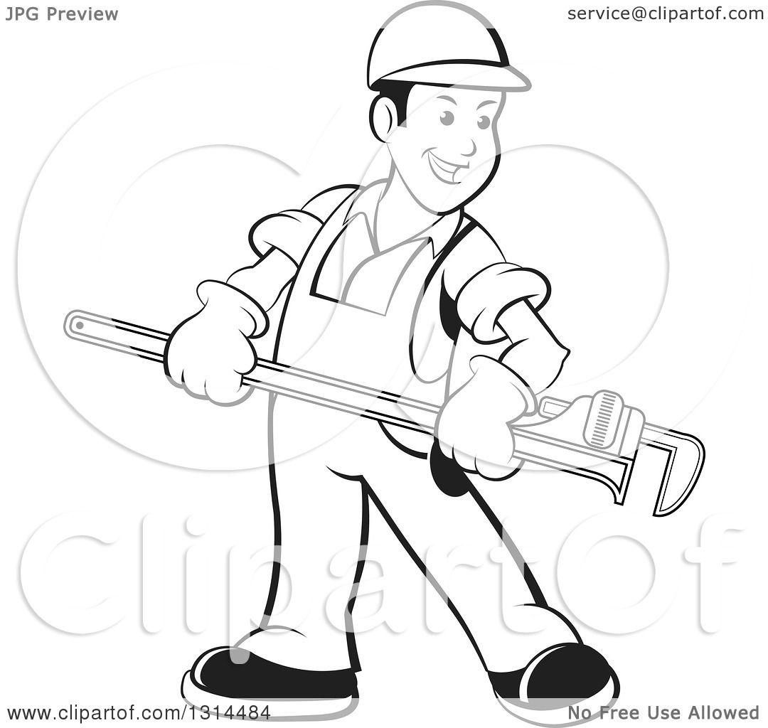 Plumber Drawing At Getdrawings