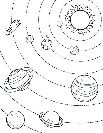 How To Draw Pluto The Planet : pluto, planet, Pluto, Planet, Drawing, GetDrawings, Download
