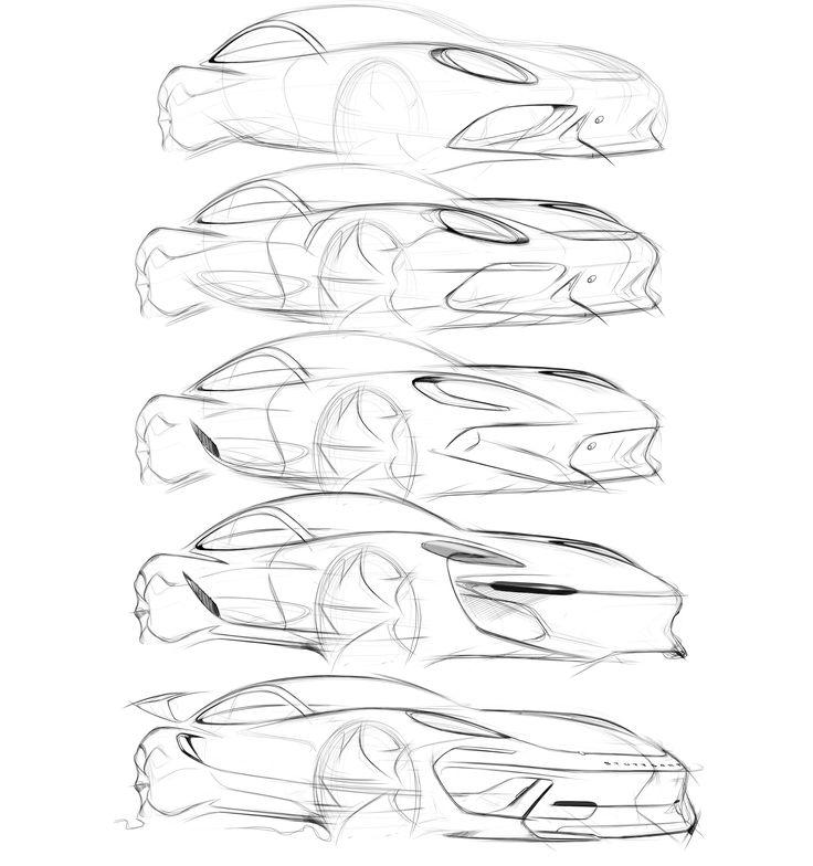 Ausmalbilder Porsche 918 Spyder