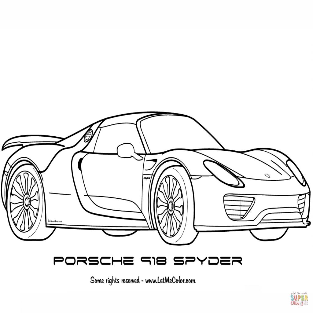 Porsche 918 Spyder Concept Study Wiring Diagram Database