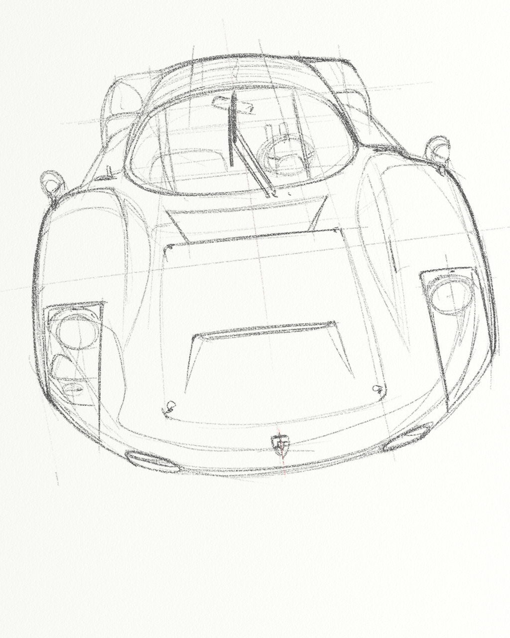 The Best Free Porsche Drawing Images Download From 262