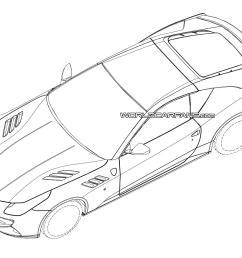 1600x1133 2015 ferrari california replacement patent drawings leaked [ 1600 x 1133 Pixel ]