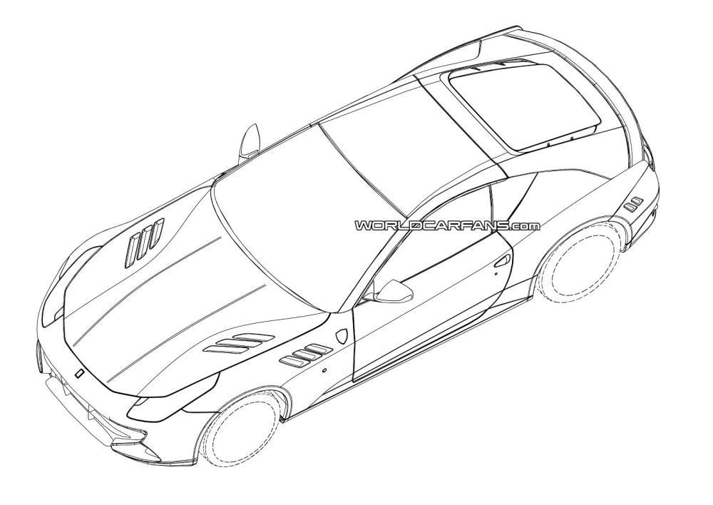 medium resolution of 1600x1133 2015 ferrari california replacement patent drawings leaked
