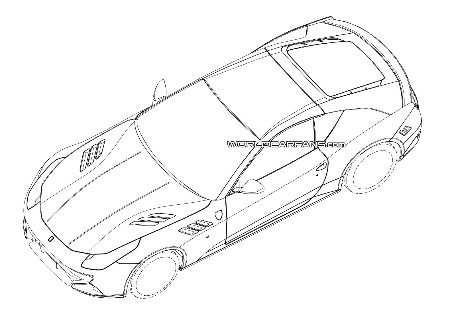 hight resolution of 1600x1133 2015 ferrari california replacement patent drawings leaked