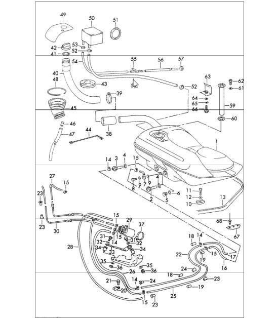 1964 Porsche 356 Wiring Diagram