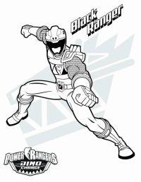 Dibujos De Power Ranger Dino Charge Para Colorear ...