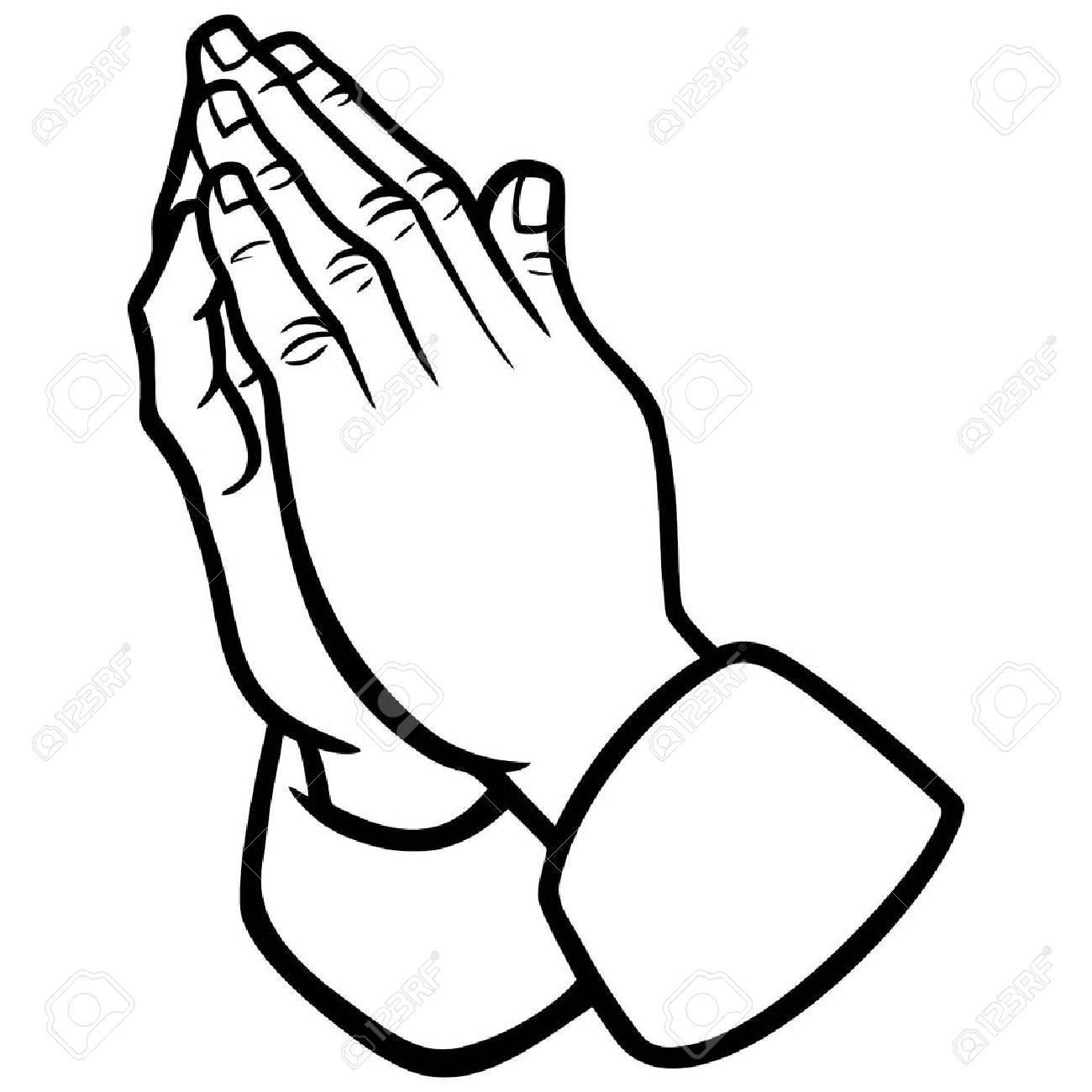 Praying Hands Drawing Tutorial At Getdrawings