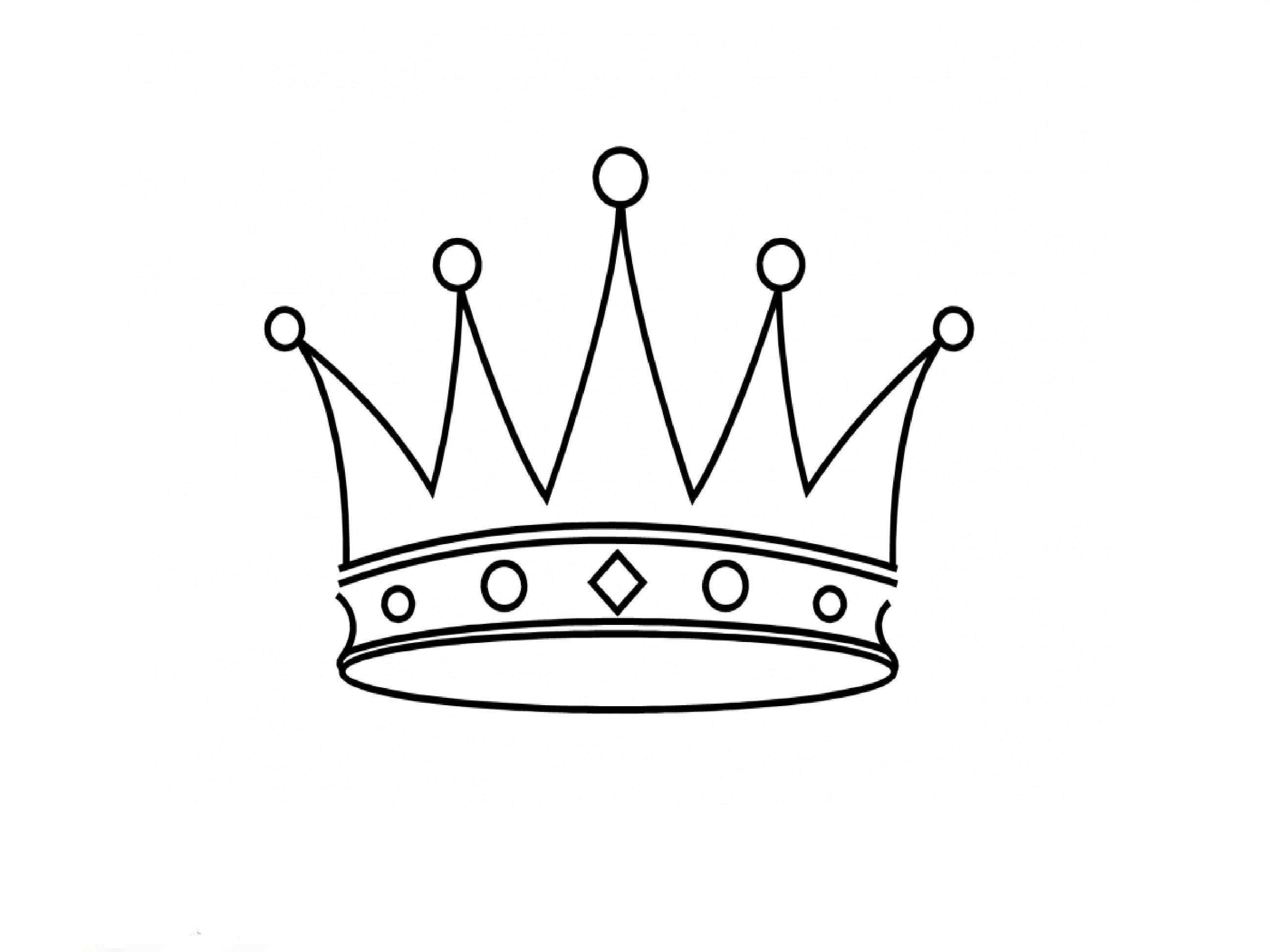Princess Crown Drawing At Getdrawings