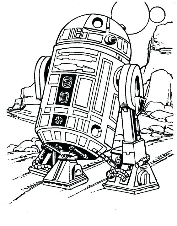 r2d2 line drawing at getdrawings  free download
