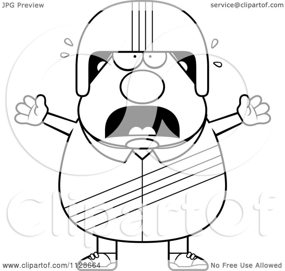 medium resolution of 1080x1024 cartoon clipart of an outlined frightened race car driver