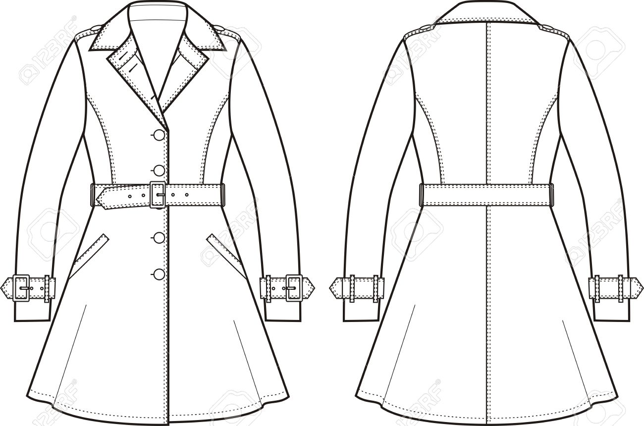 Raincoat Drawing At Getdrawings